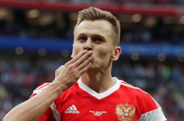 Черышев признан лучшим игроком матча открытия ЧМ-2018