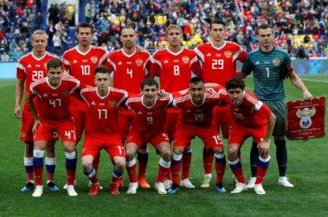 Сборная Россия перед стартом ЧМ-2018 обновила свой антирекорд