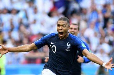 Франция выбила Аргентину счемпионата мира
