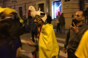 Сотни болельщиков встретили сборную Бразилии вПетербурге