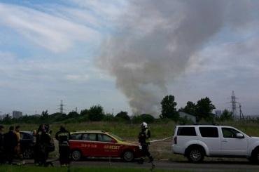 Возгорание наскладах вШушарах произошло утром 18июня