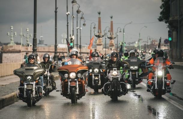 Фестиваль мотоциклов Harley Davidson пройдет вПетербурге