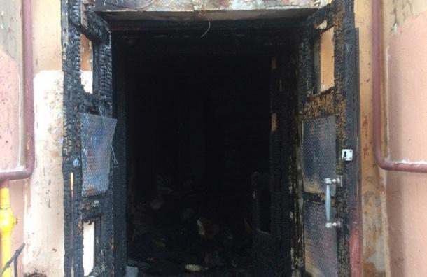Впожаре наГладкова погибла пенсионерка