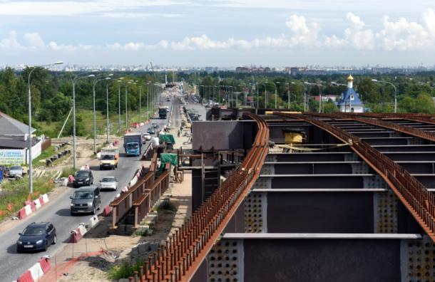 Транспортный обход Красного Села построен ровно наполовину