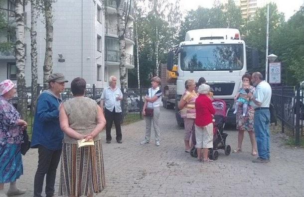 Жителям Ульянки отказали вспокойствии