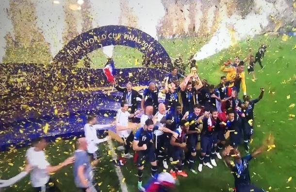 Сборная Франции выиграла золото ЧМ-2018