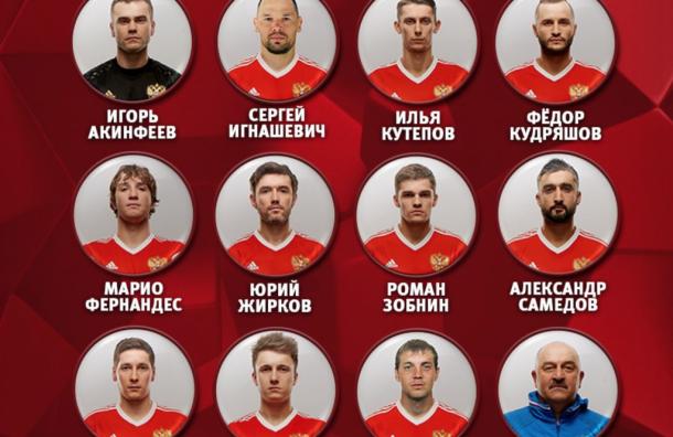 Стали известны составы матча 1/8 МЧ-2018 между Россией иИспанией