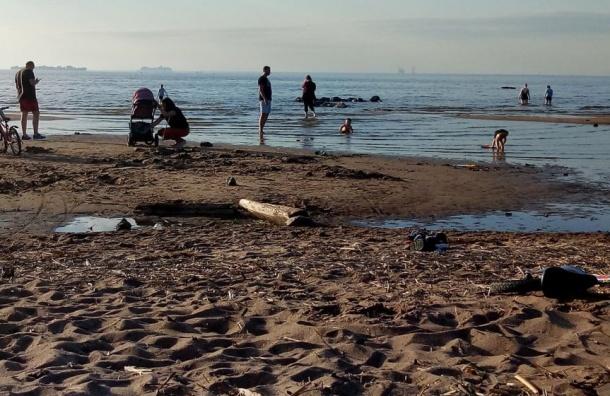 Фальшивые пляжи Санкт-Петербурга