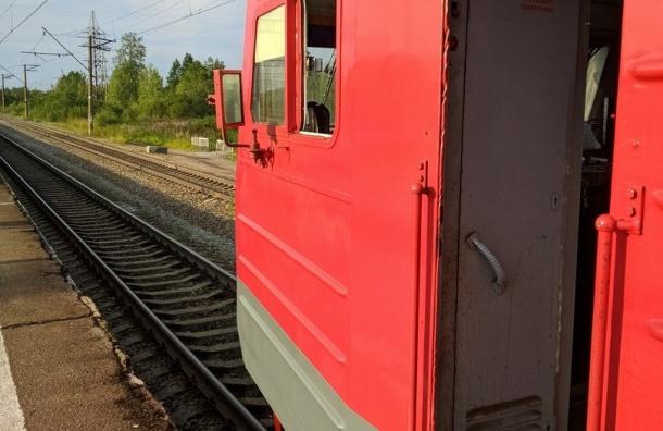 Электрички немогут доехать изЛуги вПетербург