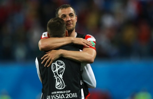Дзюба хотел вбить хорватского футболиста вземлю за«Славу Украине»