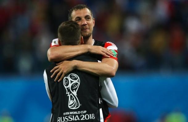 Россияне назвали лучшими игроками ЧМ-2018 Акинфеева иДзюбу