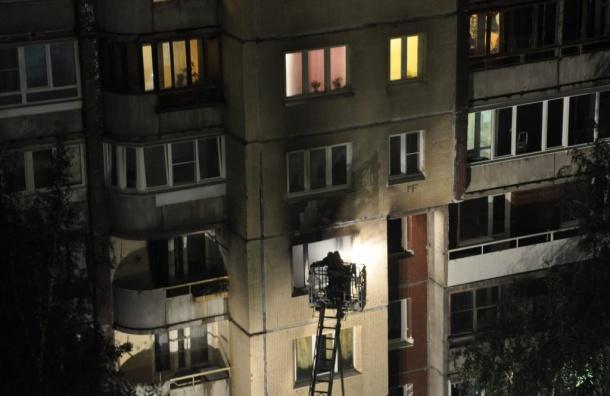 Пожар наЛатышских стрелков унес человеческие жизни