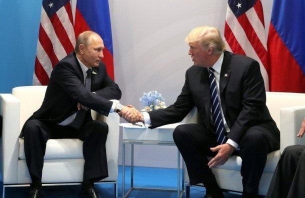 Путин: уРоссии нет компромата наТрампа