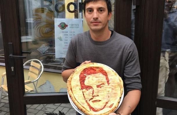 Повар изПетербурга испек пиццу сизображением Акинфеева