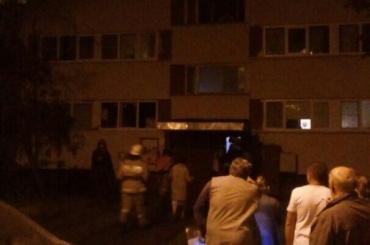 Ночью тушили пожар вдоме наЛужской