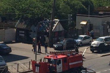 НаЛитовской улице произошел взрыв