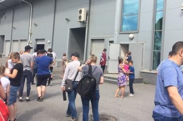 Эвакуирован ТРК «Балкания NOVA» вПетербурге