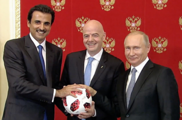 Россия передала эстафетуЧМ Катару