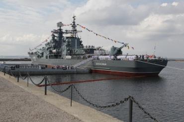 Эсминец превратили вмузей вКронштадте