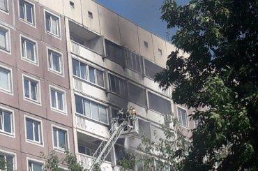 Двух человек госпитализировали после пожара наАвиаконструкторов