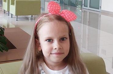 Семилетнюю Алину спасет ваша помощь