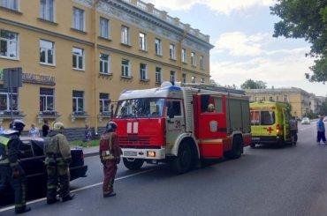 Четыре машины столкнулись вПушкине, есть пострадавшие