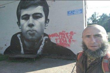 Трансгендер Анатолий написал ЛГБТ-лозунг награффити сБодровым