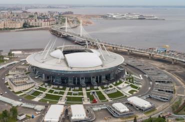 Матчи ЧМ-2018 настадионе «Санкт-Петербург» посмотрели 450 тысяч человек