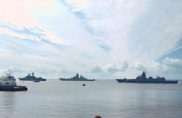 Форт Константин вКронштадте станет площадкой для просмотра Главного военно-морского парада