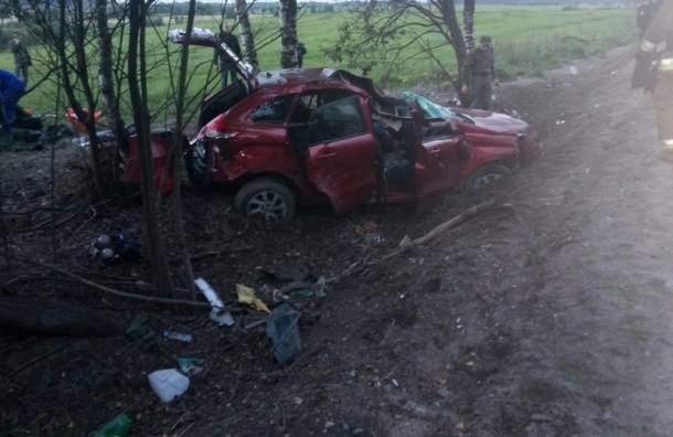 Два человека погибли вДТП натрассе Скотное-Осельки