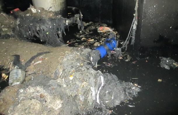 Петербуржцы сломали насосную станцию Водоканала
