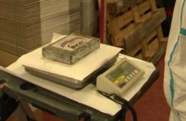 Две тонны кокаина ссимволикой «Единой России» задержали вБельгии
