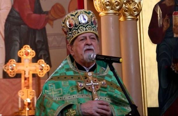 Протоиерей Сойко награжден Почетным знаком «Зазаслуги перед Санкт-Петербургом»