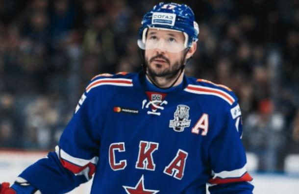Илья Ковальчук выступит заСКА вбесплатном матче