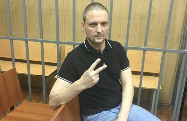Удальцова арестовали на30 суток, онобъявил голодовку