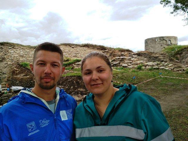 Илья Бахтин и Елизавета Алексеевская