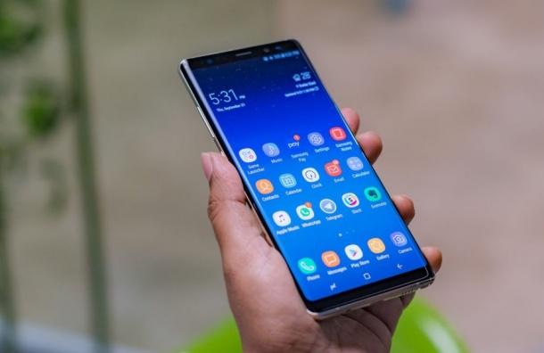 Samsung представил новый флагманский смартфон