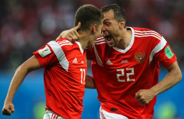 Сборная России взлетела на21 строчку врейтинге ФИФА