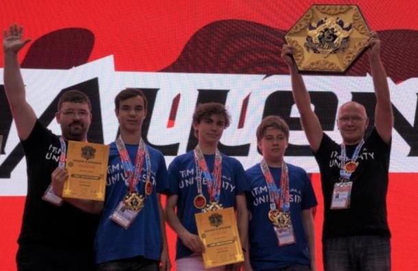 Студенты ИТМО привезли золотые медали RobotChallenge-2018