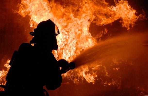 Более 400 человек эвакуировали изгорящей гостиницы наГончарной