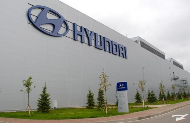 Хендай начнет строить завод моторов вПетербурге кконцу осени