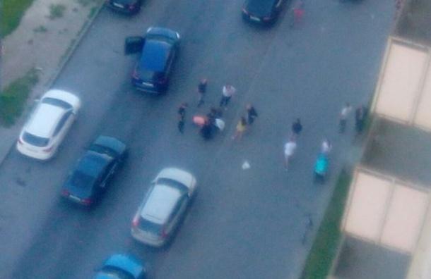 Подростка сбили наЛенинском проспекте вПетербурге