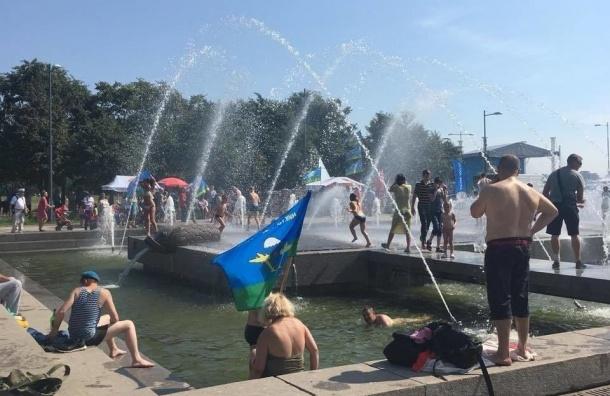 Петербургские десантники нашли «тот самый» фонтан