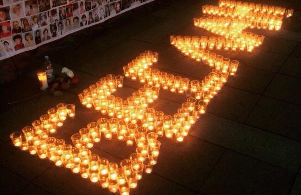 Акция памяти жертв трагедии вБеслане пройдет вПетербурге