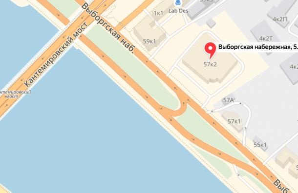 Разворот ликвидируют уКантемировского моста вПетербурге