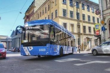Из-за концерта «Ленинграда» наНевском ввоскресенье изменится движение троллейбусов