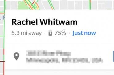 Информацию о заряде телефона можно теперь передавать в Google Maps