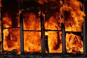 Дом сгорел вПриморском районе