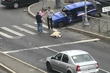 Мужчину сбили вАдмиралтейском районе
