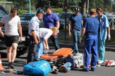 Пенсионера сбила иномарка вКолпине